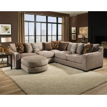 1400 Homespun Stone Sectional