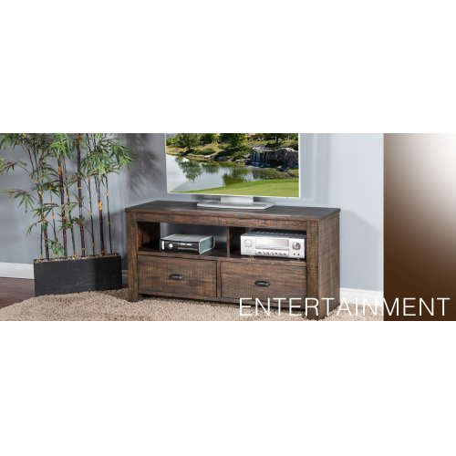 "Homestead 74"" TV Console w/ 3 Drawers"
