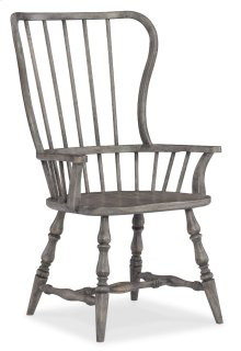 Dining Room Sanctuary Spindle Back Arm Chair