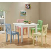 Rory Five-piece Youth Table and Chairs Product Image