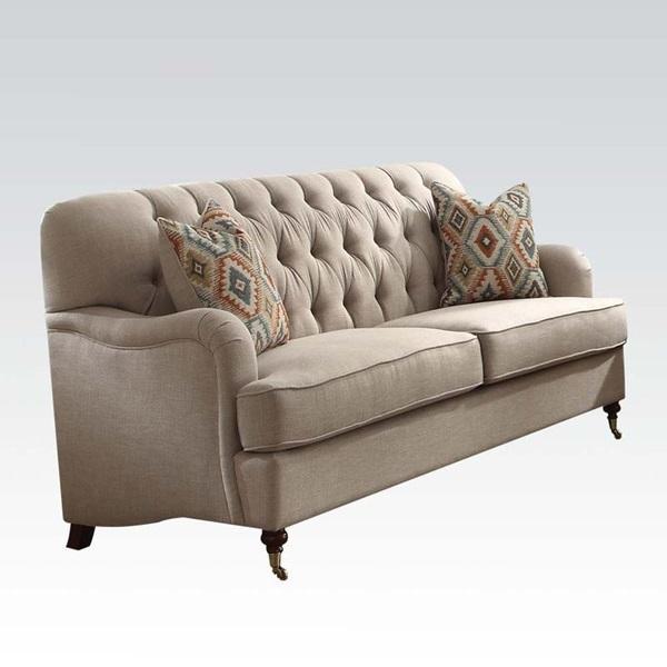Dark Gray Fabric Home & Kitchen ACME Furniture 53691 Alianza ...