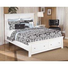 Bostwick Shoals - White 4 Piece Bed Set (Queen)