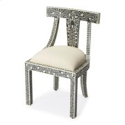 The combination of bone and wood make this traditional accent chair a stylish and durable seating platform, suitable to a plethora of spaces. This chair is ideal for anyone looking for quick and easy classic style. The chair looks great from any angle; th Product Image