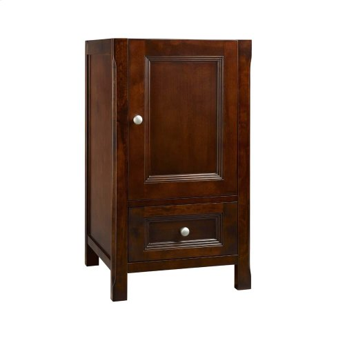 "Juliet 18"" Bathroom Vanity Cabinet Base in Vintage Walnut"