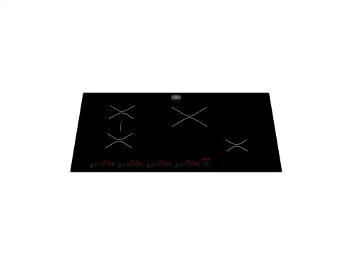 30 4 Induction Zones Cooktop Black