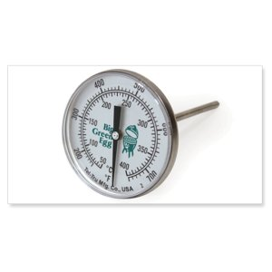 Big Green EggStainless Steel External Temperature Gauges
