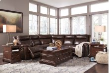 Zaiden - Antique 5 Piece Sectional