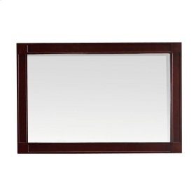 Bella 24 in. L x 36 in. W Framed Wall Mirror in Tobacco