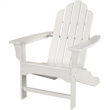 All-Weather Contoured Adirondack Chair - White