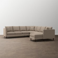 MODERN-Ariana 5 Piece U-Shaped Sectional
