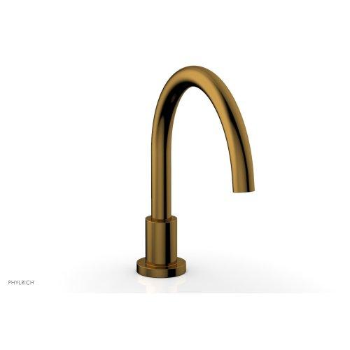 BASIC Deck Tub Spout D5130 - French Brass