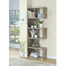 Rustic Salvaged Cabin Bookcase