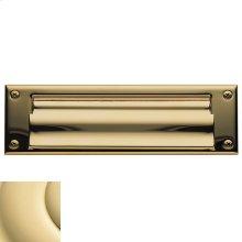 Non-Lacquered Brass Letter Box Plates