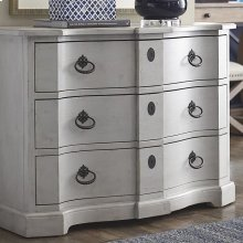 Hughes Grey Artisanal Hall Chest