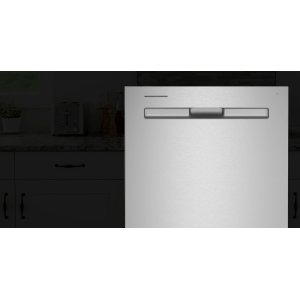 MaytagTop control dishwasher with Third Level Rack and Dual Power filtration