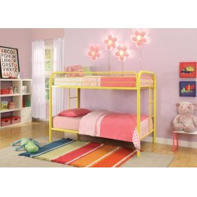 YELLOW T/T BUNKBED