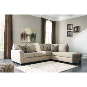 Ashley Furniture Calicho - Ecru 2 Piece Sectional