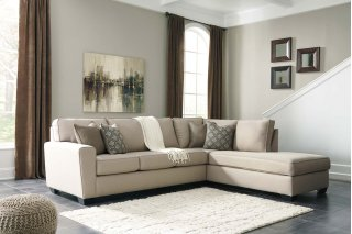 Calicho Sectional Ecru Right