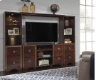 Lenmara - Reddish Brown 4 Piece Entertainment Set Product Image