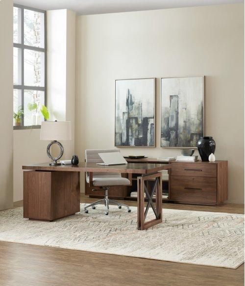 Home Office Elon Desk Pedestal