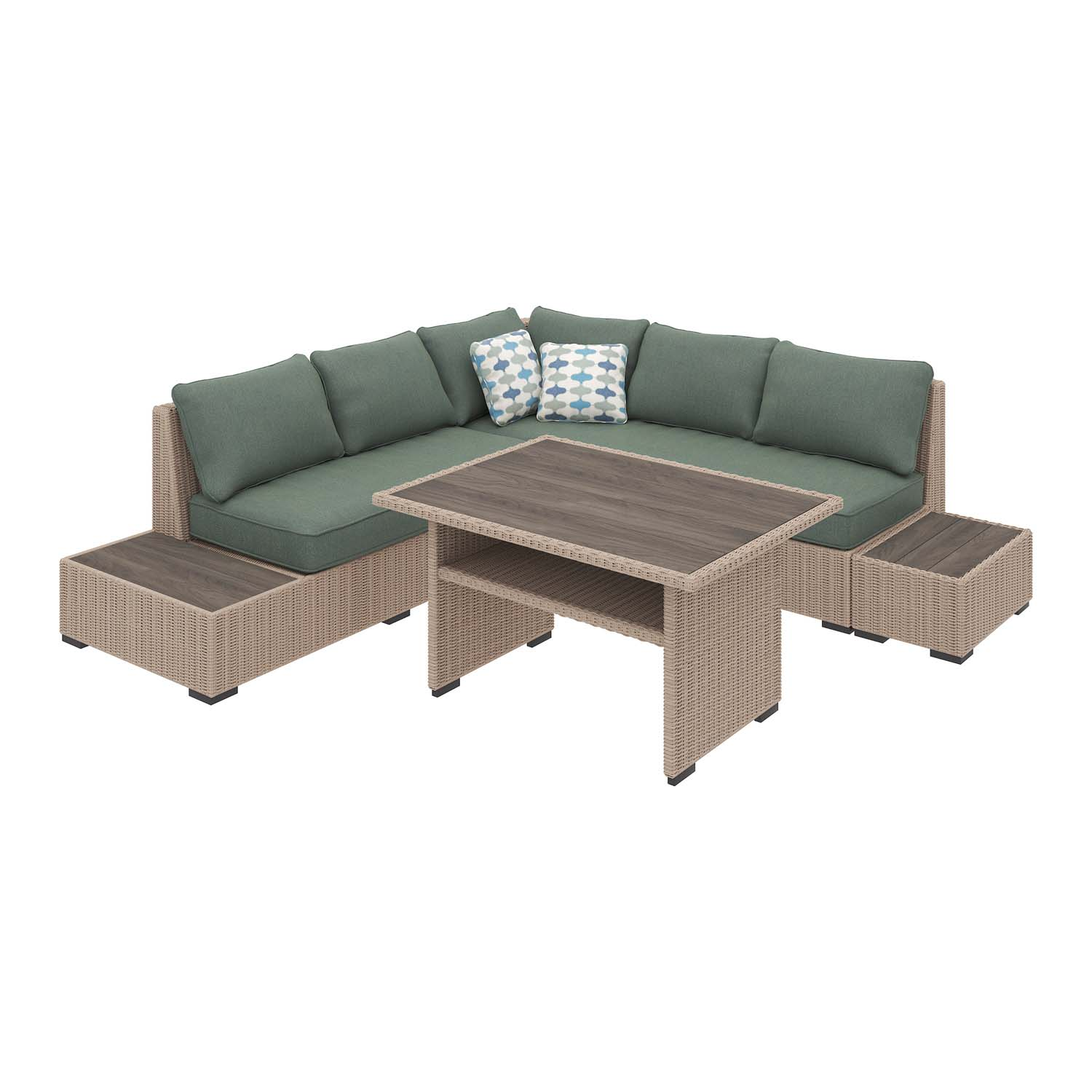 Silent Brook   Beige 2 Piece Patio Set