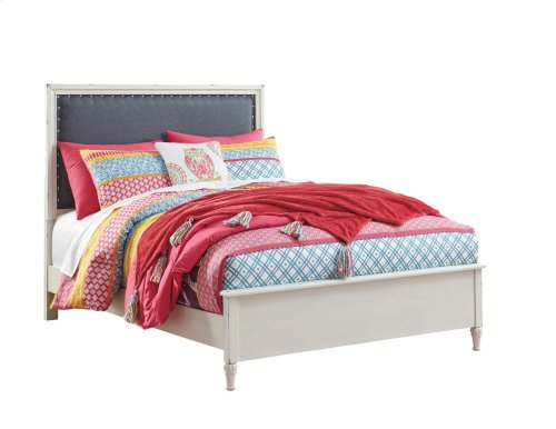 Faelene - Chipped White 3 Piece Bed Set (Full)