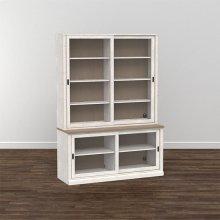 """Bella 60"""" Library Bookcase"""