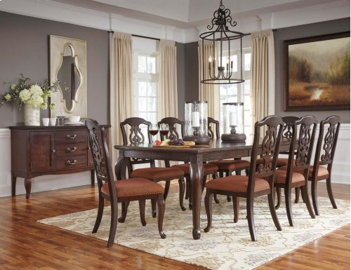 Gladdenville - Brown 5 Piece Dining Room Set