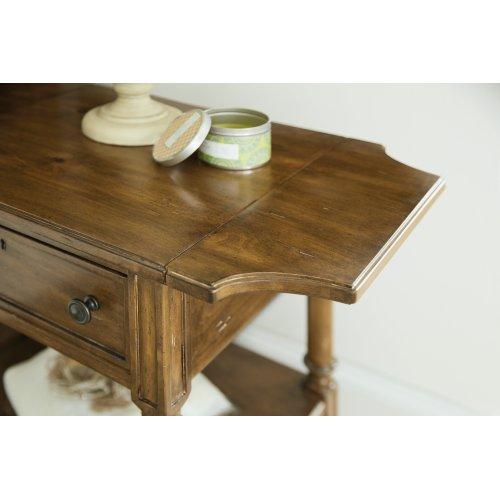 Bedroom Ballantyne Drop Leaf Telephone Table