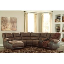 50302  Nantahala - Coffee 6 Piece Sectional
