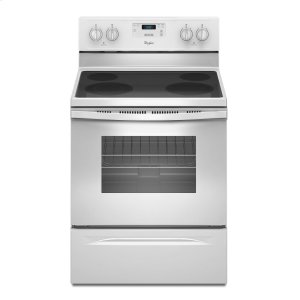 4.8 Cu. Ft. Freestanding Electric Range with FlexHeat Dual Radiant Element White -