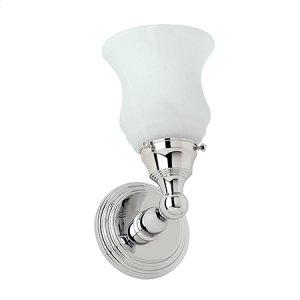 Polished Nickel Single Light