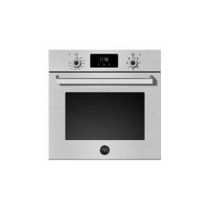 Bertazzoni24 Single Convection Oven Stainless Steel