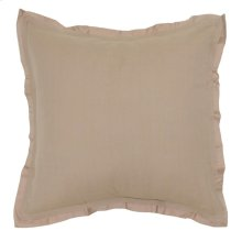 Harlow Natural 3Pc Euro Sham Set