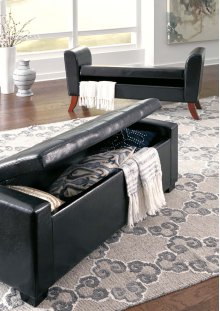 Upholstered Storage Bench
