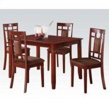 Cherry 5pc Pk Dining Set