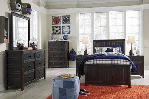 Jaysom - Black 3 Piece Bed Set (Twin)
