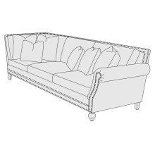 Brae Right Arm Sofa in Mocha (751)