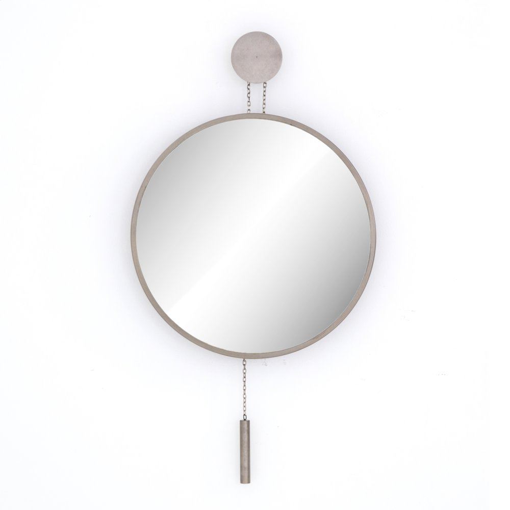Skyler Mirror-antique Pewter