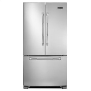 "Jenn-Air69"" Counter-Depth, French Door Refrigerator with Internal Water/Ice Dispensers Stainless Steel"