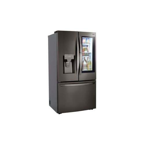 24 cu. ft. Smart wi-fi Enabled InstaView Door-in-Door® Counter-Depth Refrigerator with Craft Ice Maker
