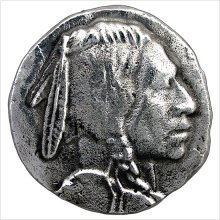 Metal Indian Head