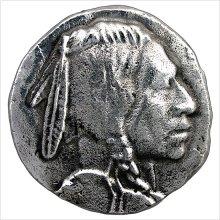 Metal Indian Head