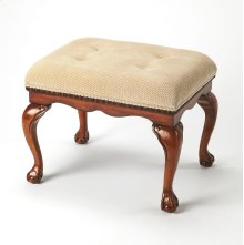 The Bench will infuse elegance into virtually any décor with many design flourishes, including shapely Chippendale legs, classic claw and ball feet, and carved apron and seat border. Crafted from wood solids in our Antique Cherry finish. The comfortable s