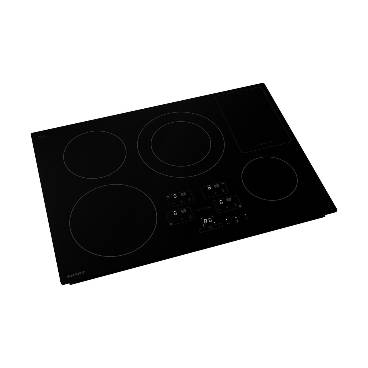 30 in. Width Induction Cooktop, European Black Mirror Finish Made with Premium SCHOTT® Glass Photo #2