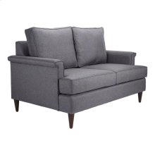 Campbell Loveseat Dark Gray