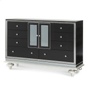 Upholstered Dresser Black Iguana Product Image