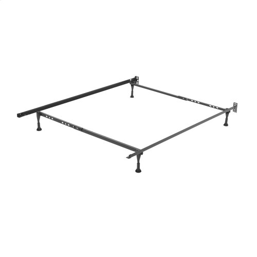 Sentry PL7960G Adjustable Posi-lock Bed Frame with Headboard Brackets and (4) 2-Inch Glide Legs, Twin - Queen