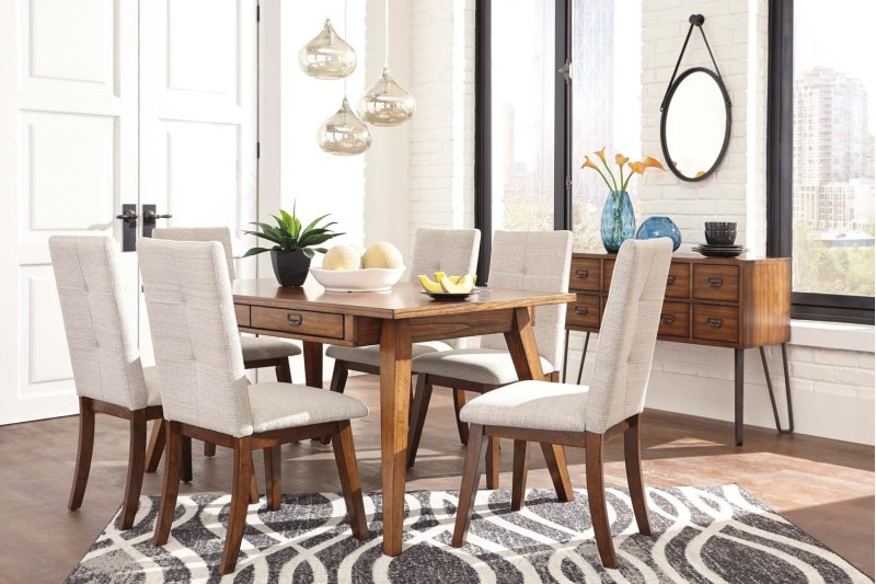 D37225 In By Ashley Furniture In Vincennes In Rectangular Dining