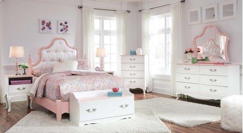 Laddi - White/Pink 2 Piece Bed Set (Full)